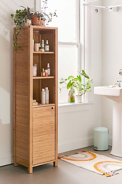 Silvia Bamboo Bathroom Storage Shelf