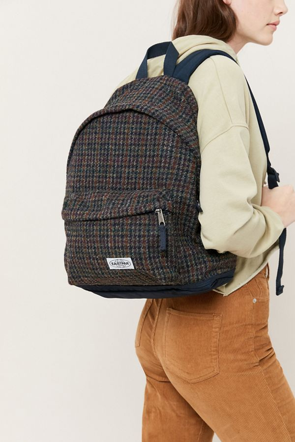 Slide View: 1: Eastpak X Harris Tweed Padded Pak'r® Backpack