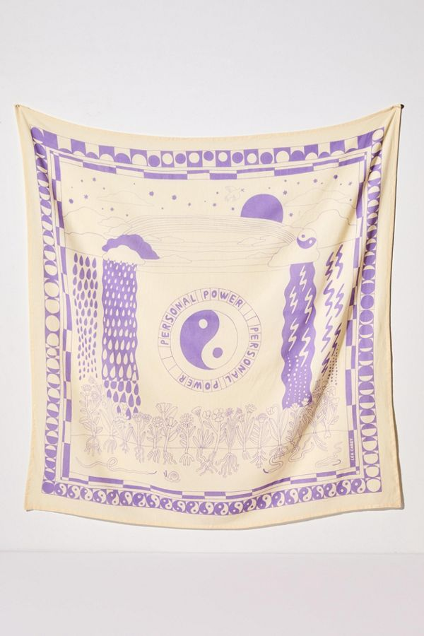 Lea Carey Uo Exclusive Personal Power Tapestry by Lea Carey