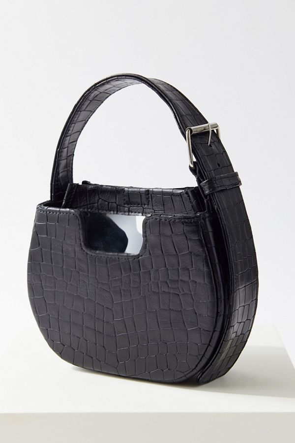 Slide View: 1: Alfeya Valrina Crocodile Joe Joe Handbag