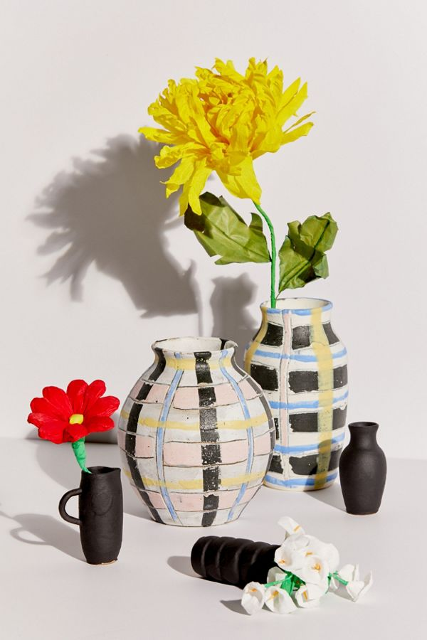 Slide View: 2: Personal Best Ceramics Mini Vase Trio