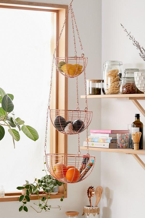 Tammy Metal Hanging Kitchen Basket