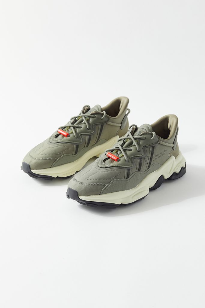 adidas originals ozweego sneakers in khaki