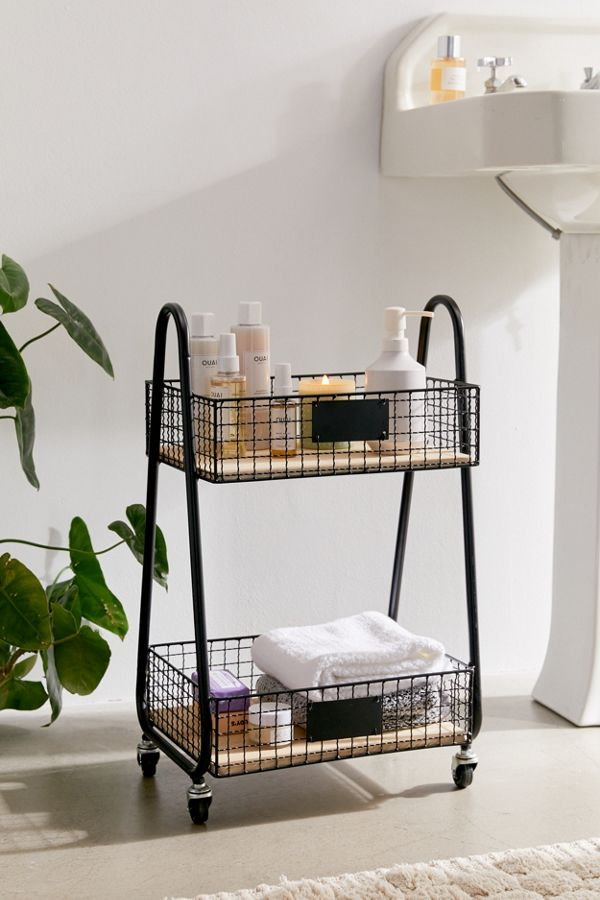 Slide View: 1: Lewis Storage Cart