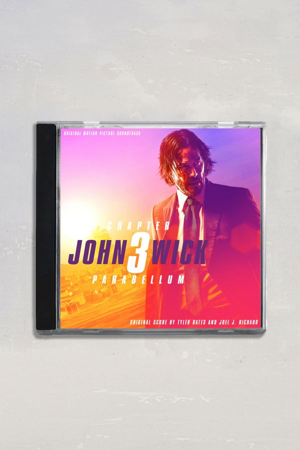 Tyler Bates + Joel J  Richard - John Wick 3 - Parabellum (Original Motion  Picture Soundtrack) CD