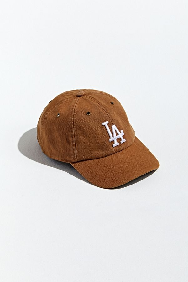 '47 X Carhartt Los Angeles Dodgers Baseball Hat by '47