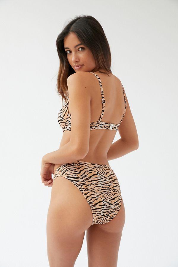 Minkpink Endangered Mid Rise Bikini Bottom by Minkpink