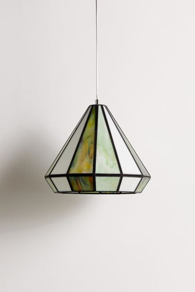 Gabriella Stained Glass Pendant Light Urban Outfitters