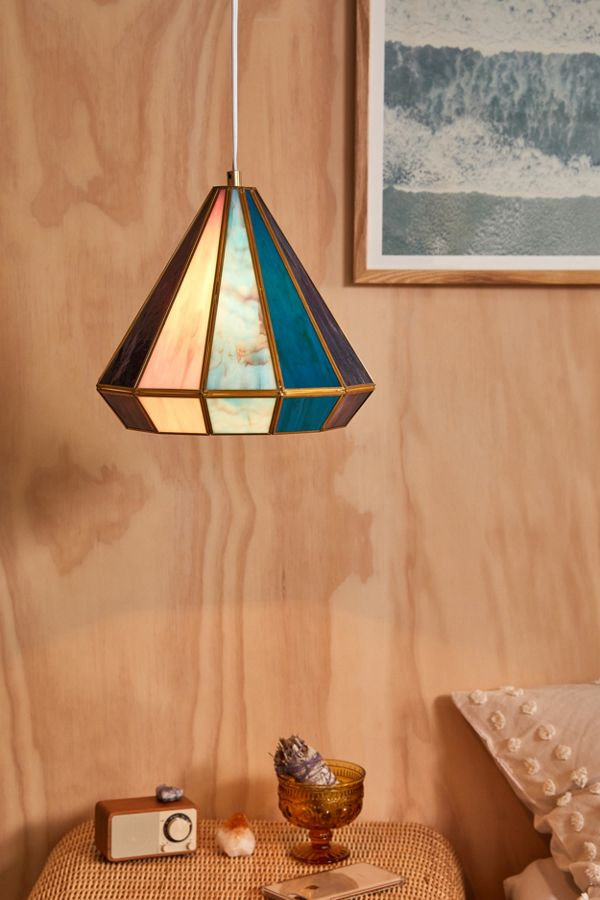 Gabriella Stained Glass Pendant Light