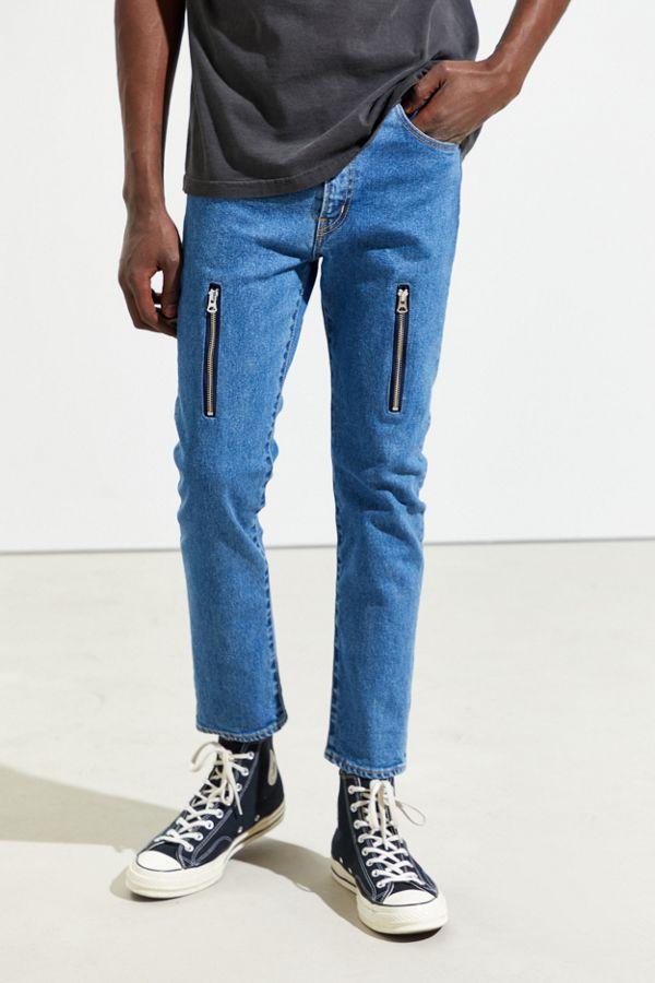 Mistergentleman Zip Skinny Jean by Mistergentleman