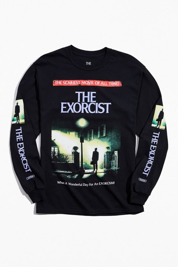 Exorcist Vhs Long Sleeve Tee by Urban Outfitters