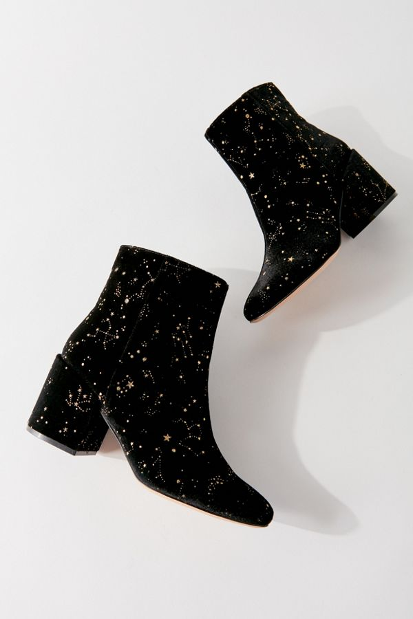Uo Margot Velvet Boot by Urban Outfitters