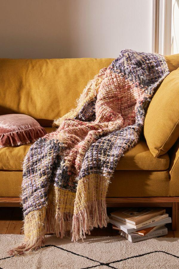 Slide View: 1: Sasha Chunky Throw Blanket