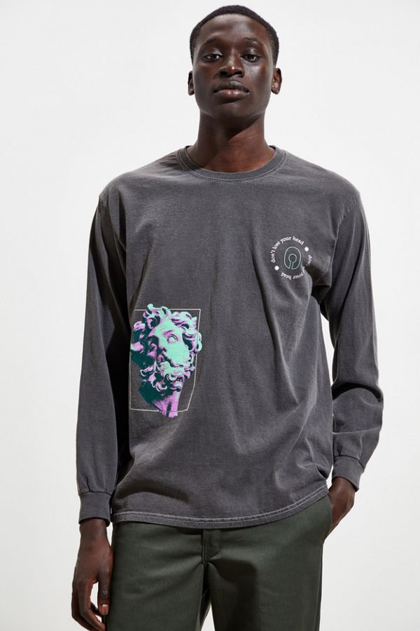 Greek Statue Collision Long Sleeve Tee by Urban Outfitters