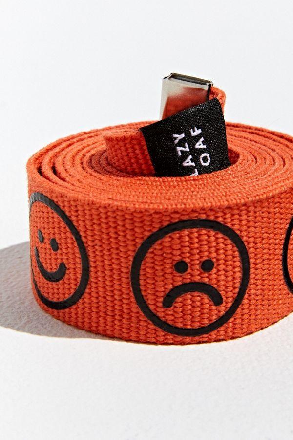 Lazy Oaf Happy Sad Belt by Lazy Oaf