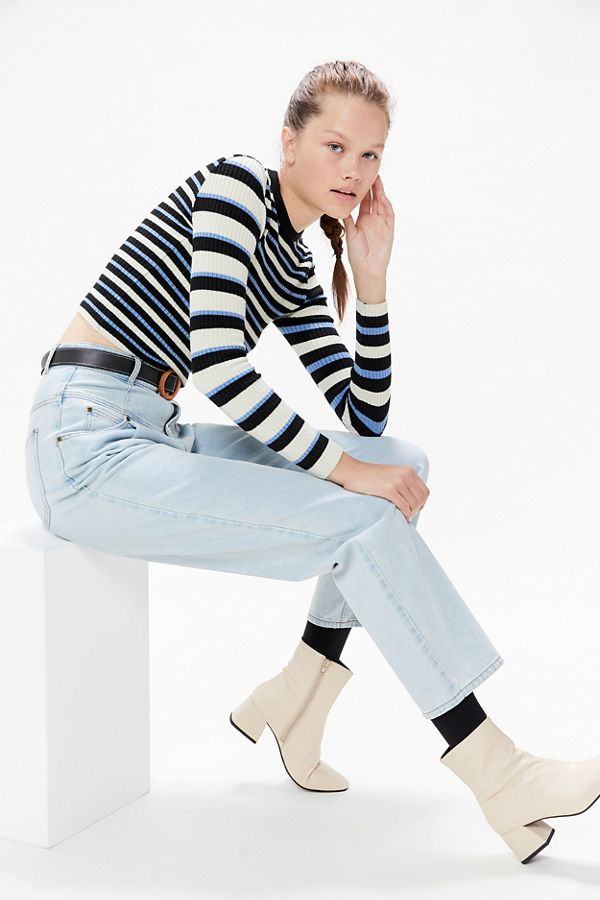Uo Odd Striped Sweater by Urban Outfitters