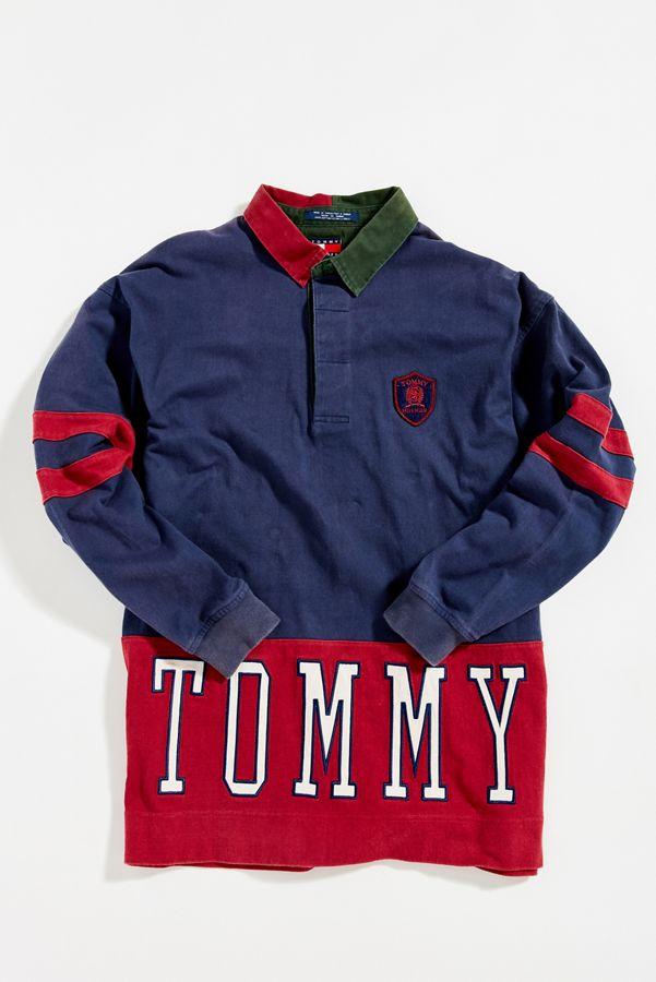 Vintage Tommy Hilfiger Colorblock Rugby Shirt