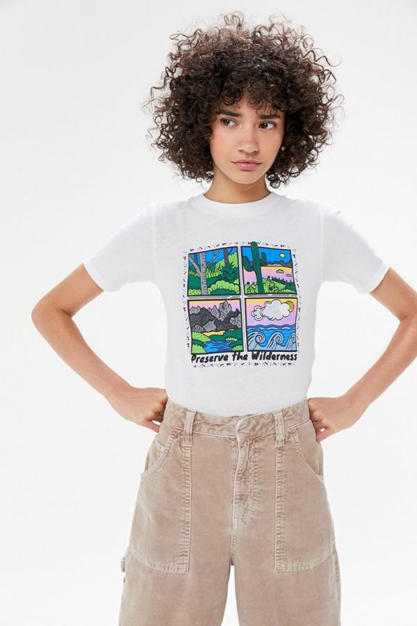 Preserve The Wilderness Tee by Urban Outfitters