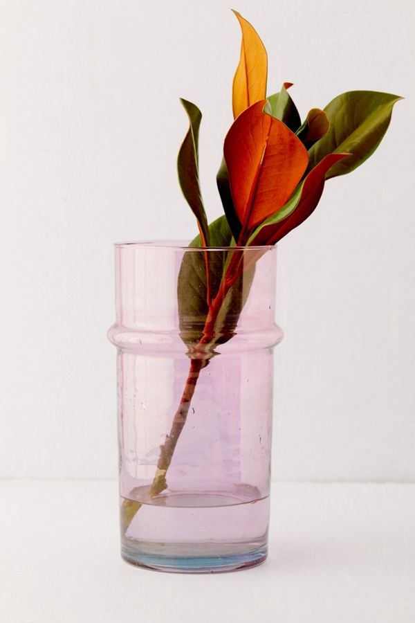 Slide View: 1: HAY Large Glass Moroccan Vase