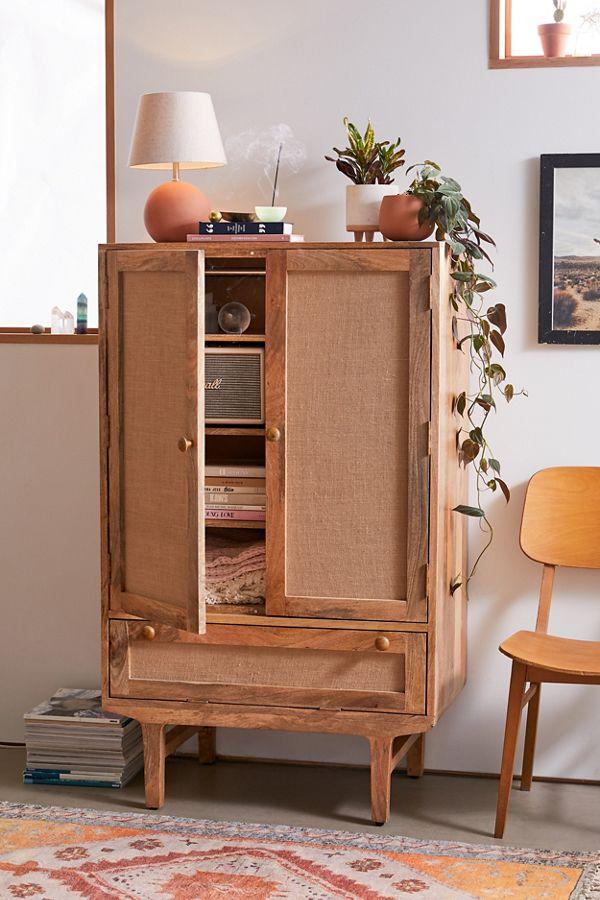 Slide View: 1: Wyatt Storage Cabinet