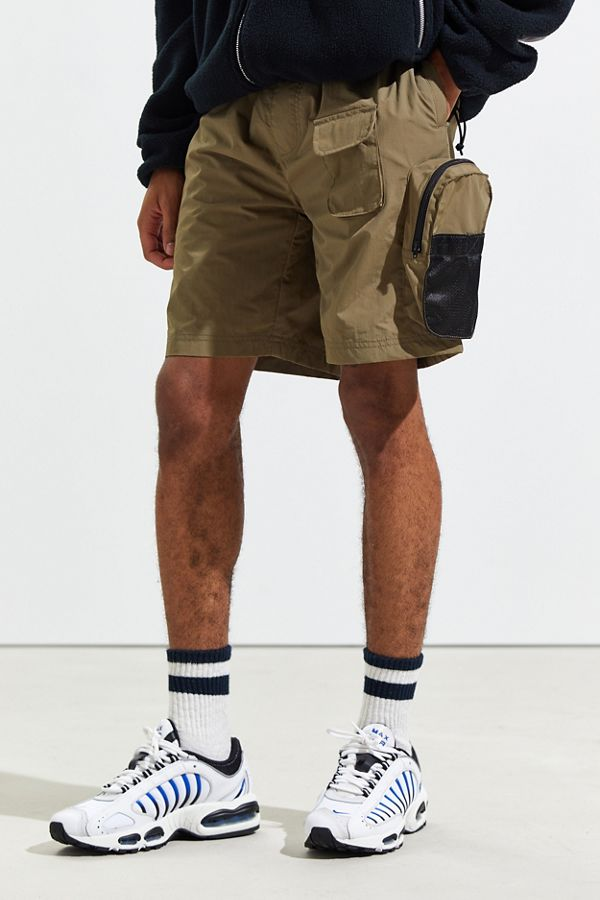 Uo Nylon Cargo Short by Urban Outfitters