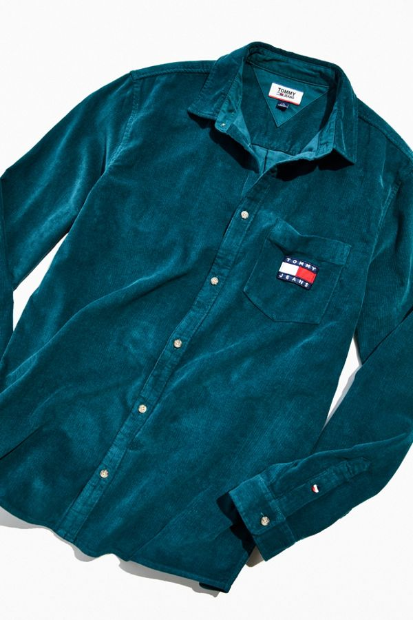 Tommy Hilfiger Corduroy Button Down Shirt by Tommy Hilfiger