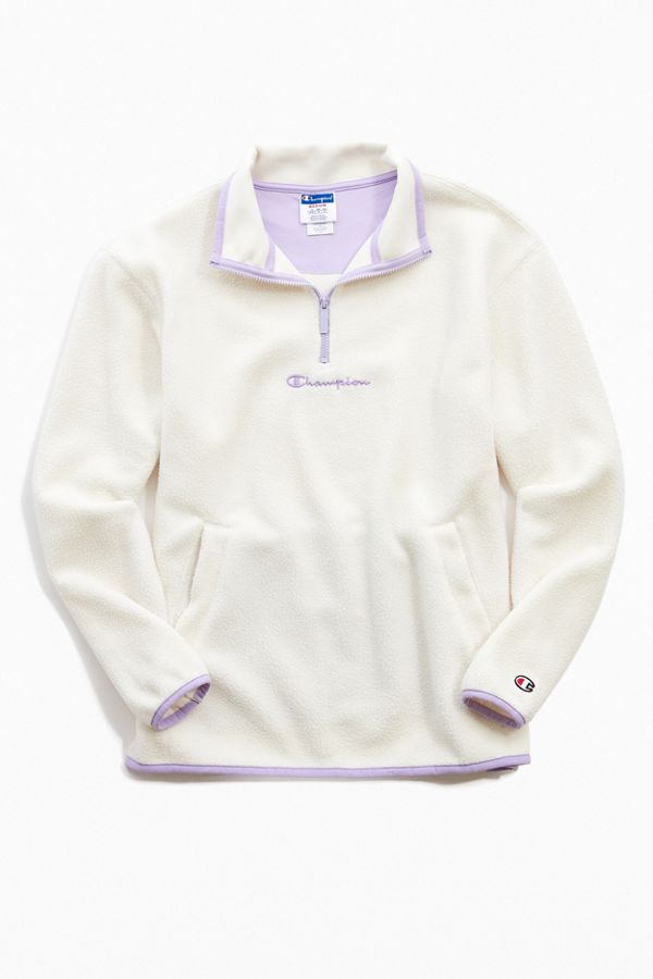Champion UO Exclusive Polar Fleece Half Zip Sweatshirt