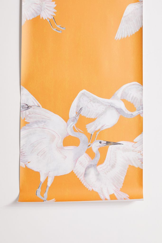 Crane Removable Wallpaper Urban Outfitters