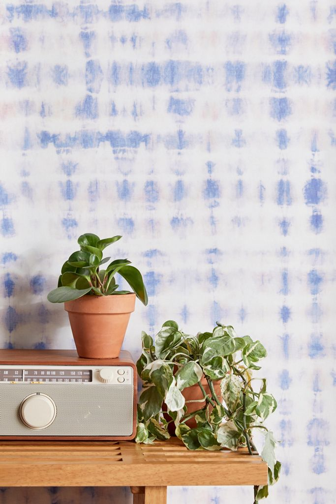 Dreamy Shibori Removable Wallpaper Urban Outfitters