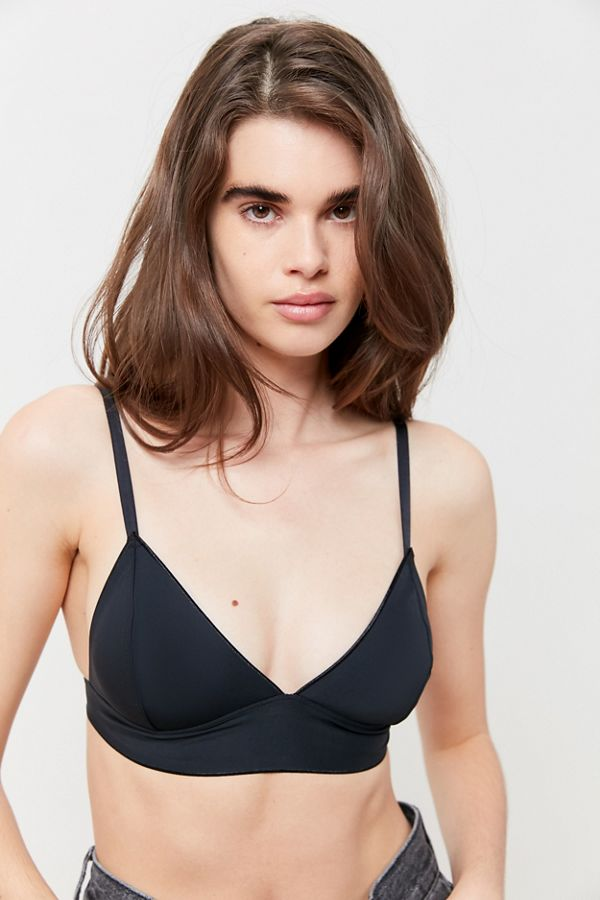 Out From Under Fusion Matte Micro Triangle Bralette by Out From Under