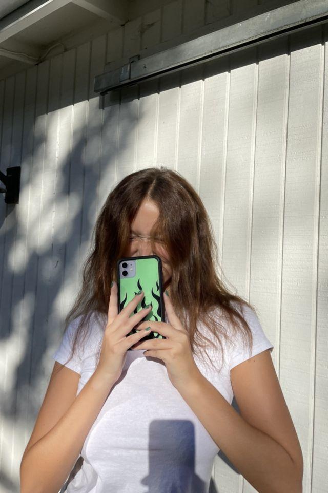 Étui à flammes fluo pour iPhone Wildflower