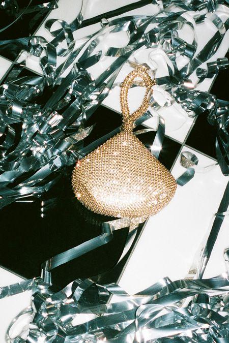 Claire Rhinestone Handbag