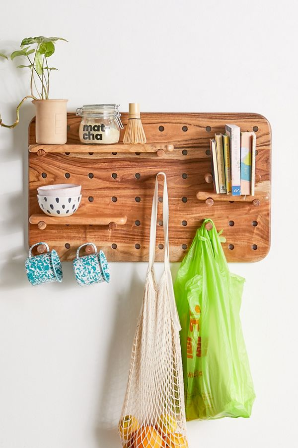 Slide View: 1: Carla Rectangle Pegboard Set
