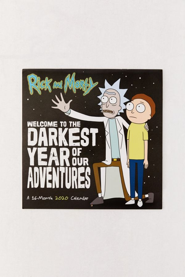 Calendrier Manga 2020.Calendrier Mural Rick Et Morty 2020