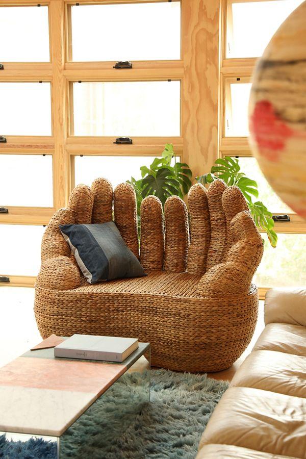 Slide View: 1: Omera Hand Love Seat