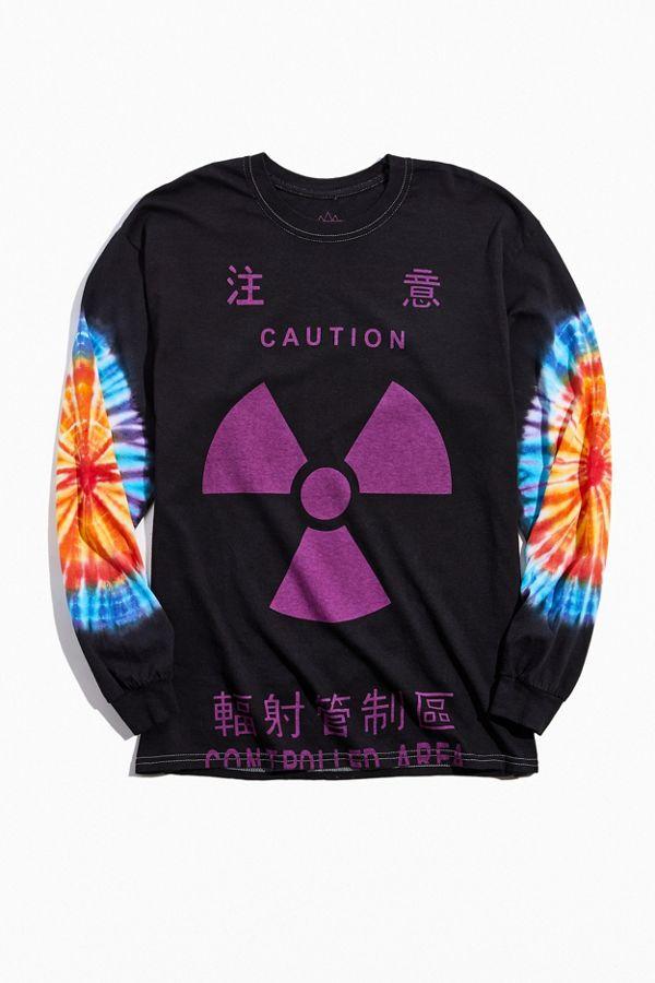altru-apparel-caution-dyed-long-sleeve-tee by altru-apparel
