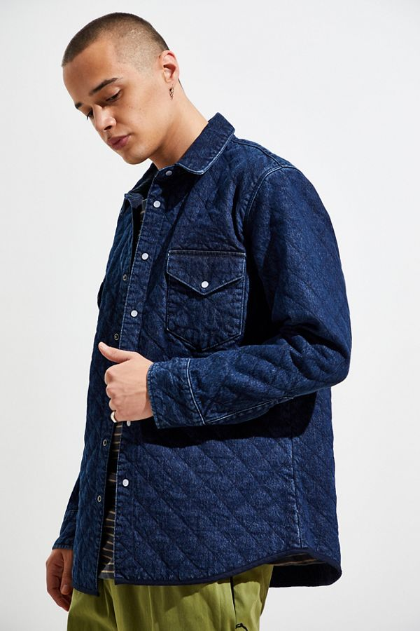 Levi's Made & Crafted Quilted Western Button Down Shirt by Levi's