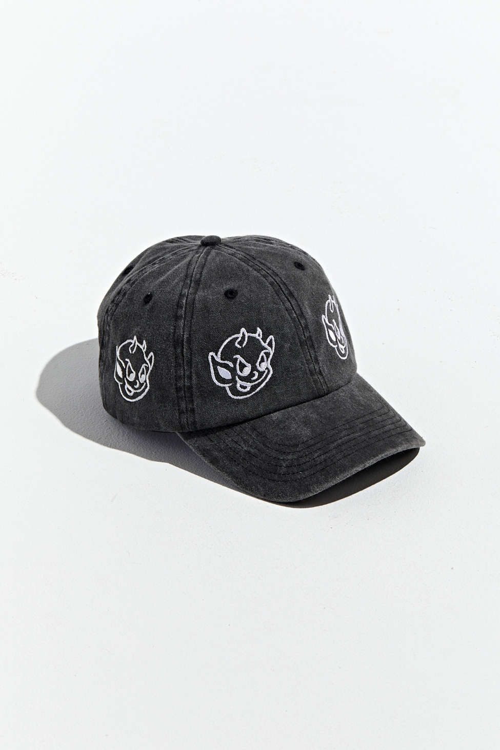 Embroidered Baby Devil Baseball Hat by Urban Outfitters
