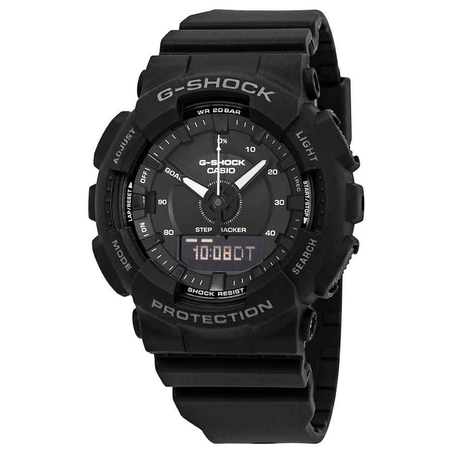 Casio G Shock S Series Black Dial Men S Analog Digital Watch Gmas130 1a