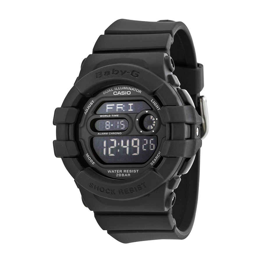 Casio Baby G Digital Dial Black Resin Watch Bgd140 1acr