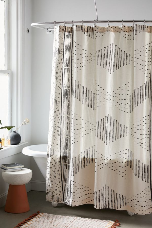 Malin Geo Shower Curtain by Urban Outfitters