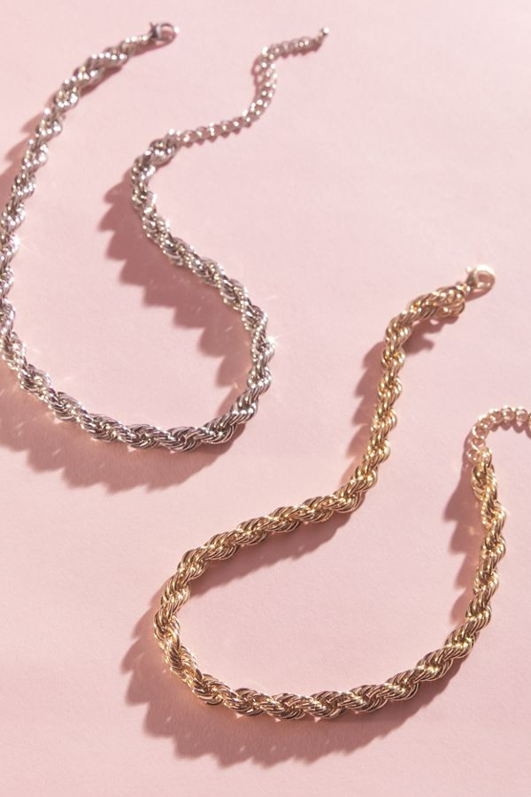 Remy Rope Chain Necklace by Urban Outfitters