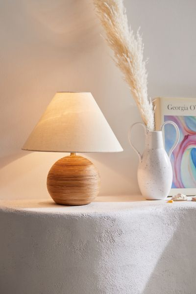 Angelo Rattan Table Lamp Urban Outfitters