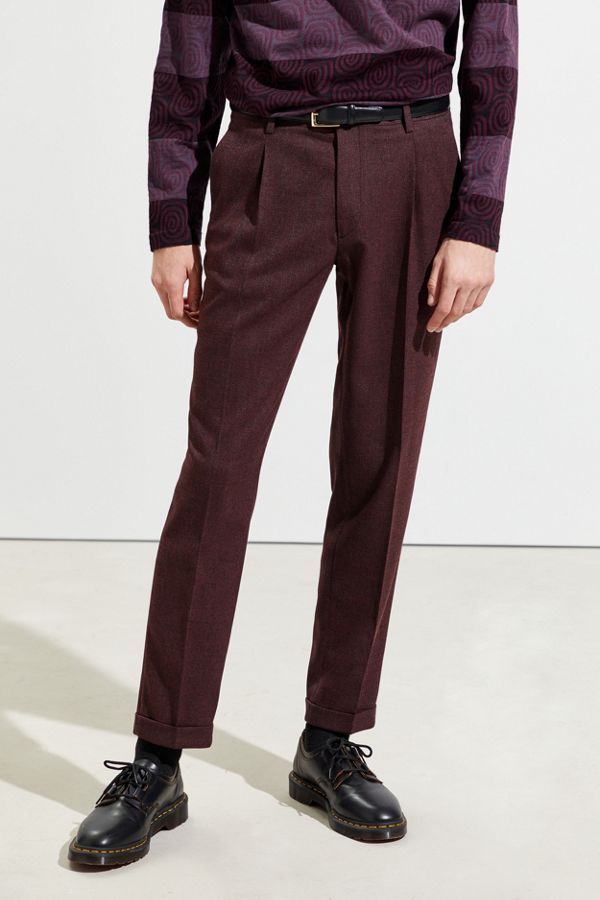 uo-herringbone-slim-fit-suit-pant by urban-outfitters