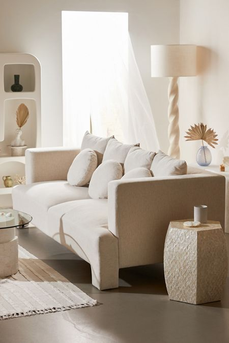Serene Space Décor: Neutral Furniture