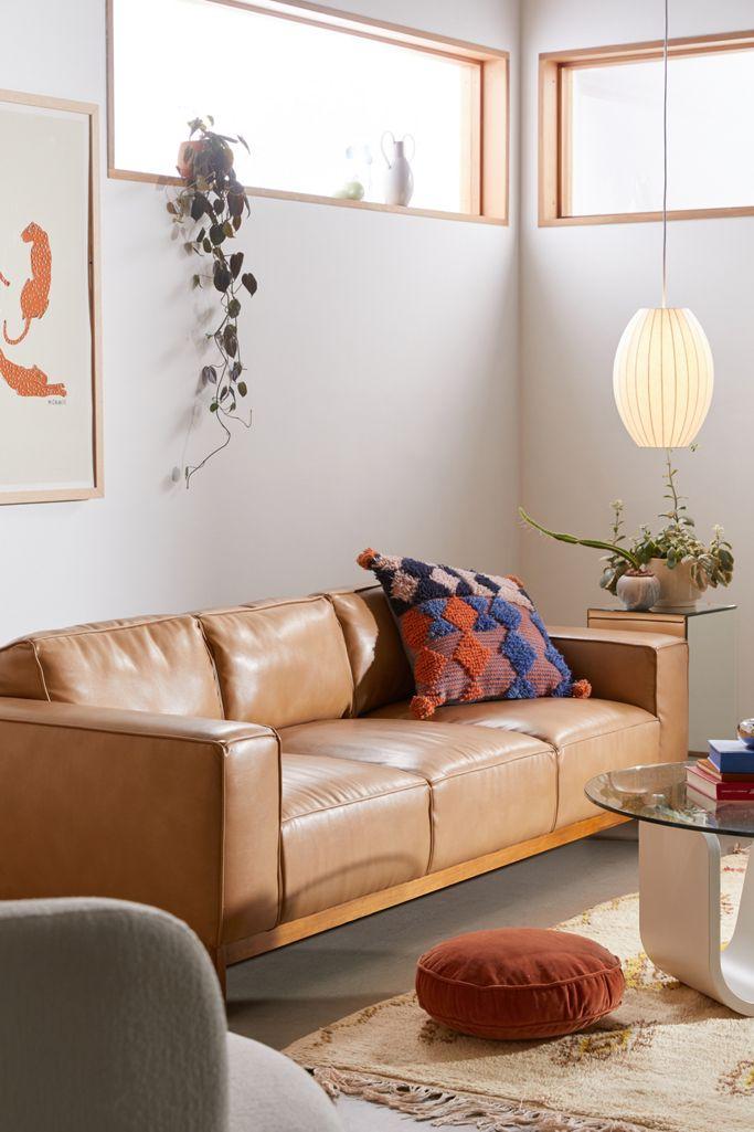 Kiera Faux Leather Sofa Urban Outers