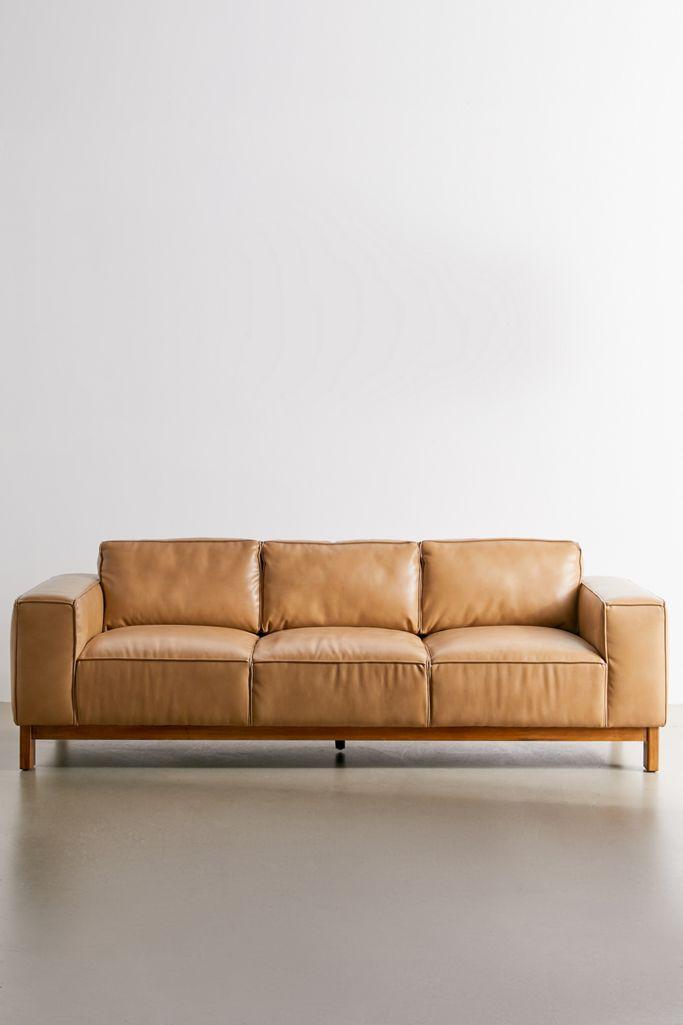 Imitation Leather Sofa Mindonmath