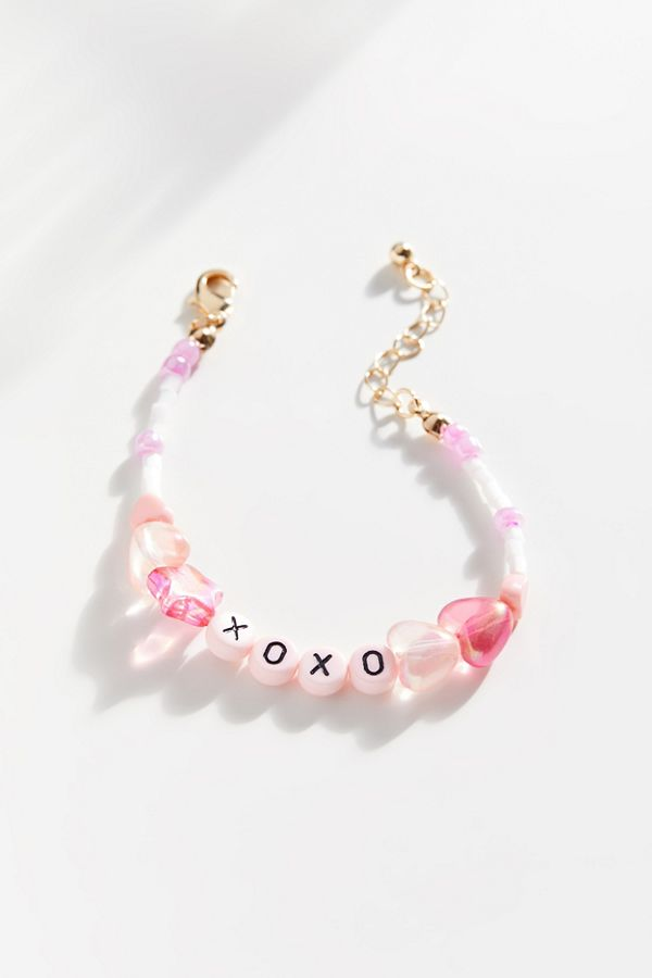 Xoxo Beaded Bracelet by Urban Outfitters