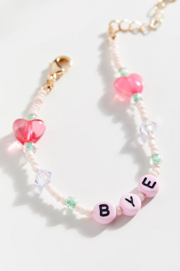 Bye Beaded Bracelet by Urban Outfitters