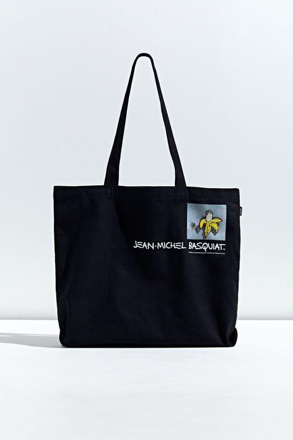Pintrill X Basquiat Banana Tote Bag by Pintrill